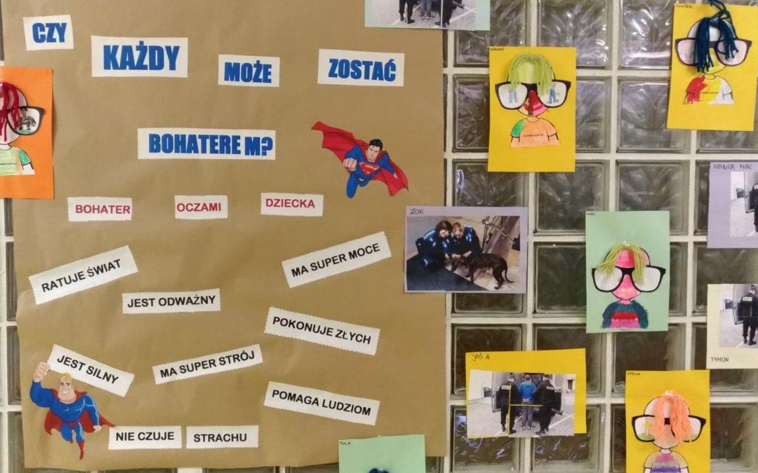 Zajęcia filozoficzne w każdej grupie wiekowej: Czy każdy może zostać bohaterem?